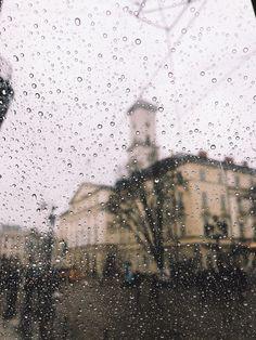 #ukraine #rainy #street