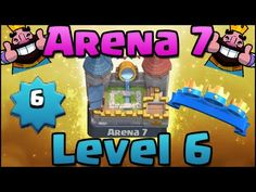 Clash Royale  How to Get to Arena 7 (Royal Arena) | Level 6 Best  http://ift.tt/1STR6PC