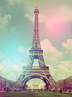Eiffel Tower / pastel