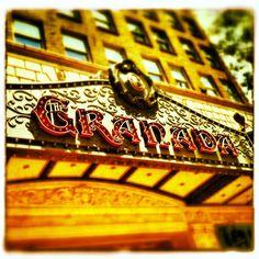 The famous Granada Theatre in Santa Barbara. Explore the area more: http://instagram.com/visitsantabarbara