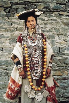 Woman from Himachel Pradesh, Kinnaur Northern India.