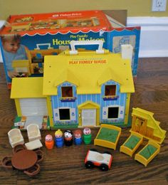 I spent hours playing with my doll houses