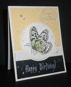 Simply Sara Stampin' ~ Sara Hoogendoorn: Small Things ~ A Fun Stampers Journey Card