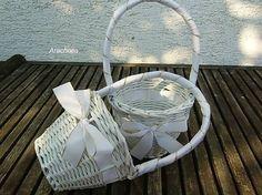 Arachnea / biela svadba - košíček pre družičku