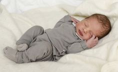 Princess Madeleine gave birth yesterday, 15 June 2015, at 1:45PM Stockholm time to a baby boy. She and husband Christopher O'Neill released 3 photos of their son today, dressed head to toe in dove grey.   Photo 3 of 3