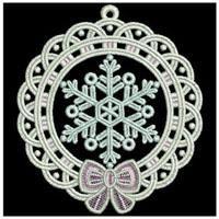 FSL Christmas Ornaments 6 - Ace Points | OregonPatchWorks