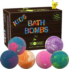 Kids Bath Bombs Gift Set with Surprise Toys   Best Gifts and Toys for 9 Year Old Girls   Best Girl Toys Age 9