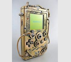 Steampunk Game Boy. I never thought those words would appear in the same sentence.