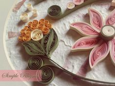 Quilling from Simple Rhyme