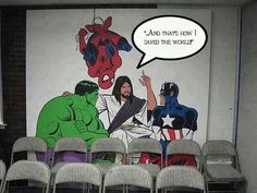 I would paint this at my church with my pastors' permission! This rocks!