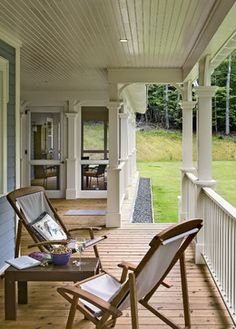 Crisp Architects - traditional - porch - new york - Crisp Architects