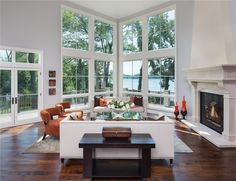 Artisan Residence - Nestled into the woods on Grey's Bay of Lake Minnetonka, this European-styled residence epitomizes sophistication and traditional refinement. With bold architectural details, Grand entry, sweeping lake views, and modern conveniences blended artfully through interior design, this home perfectly suits the demands of today's active family.
