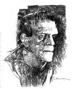 Frankenstein by Bill Sienkiewicz