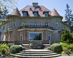 Pittock Mansion- (I've been here, but I've never done the inside tour) and it has a beautiful view of PDX and Mt Hood!