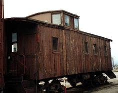 Campo CA 91906 | San Diego and Arizona caboose at Campo, CA train museum (7KB/57KB)