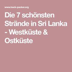 Die 7 schönsten Strände in Sri Lanka - Westküste & Ostküste