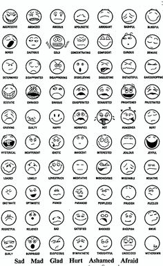 Feeling faces printable coloring sheet | Counseling | Pinterest ...