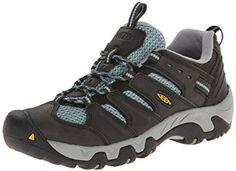 KEEN Women's Koven Hiking Shoe, Raven/Mineral Blue, 5 M US | Amazon.com