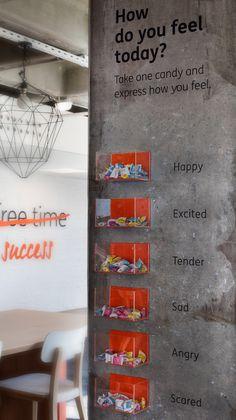 Gallery of Ing Bank Turkey HQ / Bakirkure Architects – 14 Office of ING Bank Turkey HQ / Bakirkure Architects -Istanbul, İstanbul, Turkey Cool Office Space, Open Office, Bureau Design, Office Walls, Office Decor, Banks Office, Decoration Design, Home Decoration, Cool Technology