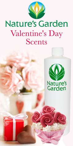 Valentine's Day fragrances from the world famous, Natures Garden Fragrances.  Perfect scents for Valentine's Day. #valentinesdayscents