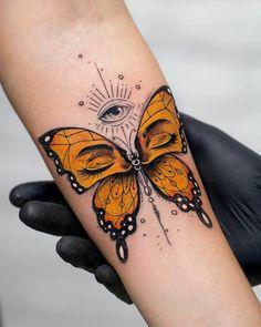 Tattoo Designs - tattoo ideas 41 Pretty Butterfly Tattoo Designs and Placement Ideas Ink Tattoo, Tattoo Fonts, Piercing Tattoo, Body Art Tattoos, Hand Tattoos, Piercings, Dope Tattoos, Pretty Tattoos, Unique Tattoos