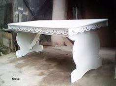 Resultado de imagen para mesas de mdf para festas