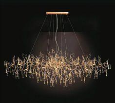 Contemporary chandelier / glass BIJOUT: CT3263/18 SERIP , Organic Lighting