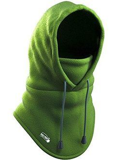 Balaclava Fleece Hood - Windproof Ski Mask - Heavyweight Cold Weather  Winter Motorcycle 891624bf5710