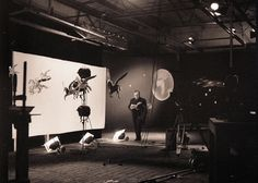Zeman on the set of Baron Munchausen (photo credit: Karel Zeman Museum) Baron, Zeppelin, Lonely Planet, Vintage Images, Photo Credit, Film, World, Praha, Google Search