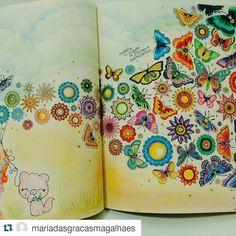 """Lindo colorido!  #Repost @mariadasgracasmagalhaes  #⃣ Use #jardimcolorido para divulgar as suas artes…"""