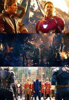 Avengers infinity War Trailer Photos