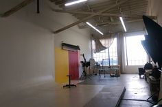 1500 Sq. Ft. Photography Studio with Cyclorama