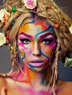 Différents maquillages artistiques