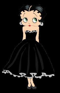 gifs et tubes betty boop - Page 2 Betty Boop Cartoon, Girl Cartoon, Gifs, Imagenes Betty Boop, Black Betty Boop, Brown Betty, Betty Blue, Boop Gif, Pin Up
