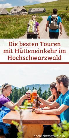 Weil man im Schwarzwald nicht nur gut wandern kann, sondern es hier auch gutes Essen gibt kommen hier die besten Wanderungen und Touren mit Hütten zum einkehren.
