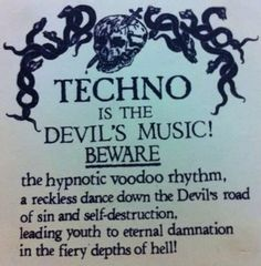 techno is the devils music? Festivals, Hardcore, Photos On Facebook, Acid House, Self Destruction, All About Music, Partying Hard, Post Punk, Electronic Music