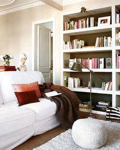 Trendy Home Library Ideas Room Shelves Ideas Home Office Closet, Home Office Decor, Sliding Room Dividers, Home Gym Design, Living Room Shelves, Living Room On A Budget, Trendy Home, Home Decor Inspiration, Inspiration Boards