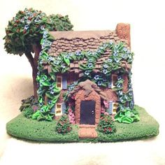 polymer clay miniature house - Google Search