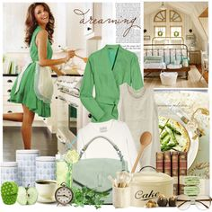 Dreaming cooking, created by romanticgirl on Polyvore
