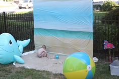 photo booth beach / pool party