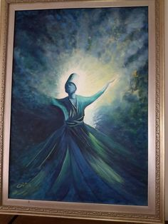 Whirling Dervish, Sufi, Art Drawings, Kitty, Watercolor, Oil Paintings, Islamic, Face, Artworks