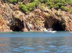 Caves on Norman Island - Tortola, British Virgin Islands