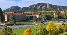 The University of Colorado in Boulder created the first student-directed recycling program in 1970. This college provides alternative transportation for its students, reusable shopping bags for first-year students, and its buildings meet LEED gold standards.