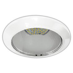 Luminario LED tipo Downlight empotrado a techo marca Tecno lite. IluminaciÌ_n LED para interiores. Consume ̼nicamente 10 watts. Enviamos a todo M̩xico.