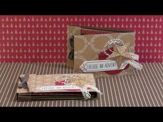 ▶ DIY - Minibook - Freude im Advent - Stampin' Up! - YouTube ....looks like a cute album, in a different language,but she puts up the dimensions....