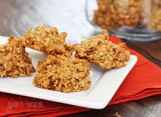 LOVE these Pumpkin Spiced Oatmeal Pecan Cookies from SkinnyTaste!