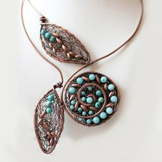 Necklace by Wire Moon