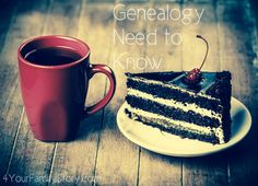 7 #Genealogy Things You Need to Know Today, Saturday, 7 Jun 2014, via 4YourFamilyStory.com. #needtoknow #familytree