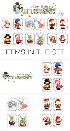 """it's Christmas"" by smile2528 ❤ liked on Polyvore featuring art"