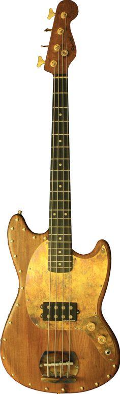 Mustang Bass Wine - Paoletti Guitars